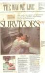 Hudson Article  newspaper Cancer Survivor